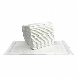 "Super Water Absorbent Mats, 7"" W x 14"" L, 200 PK"