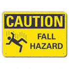 Caution: Fall Hazard Signs