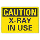 Caution: X-Ray In Use Signs