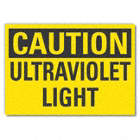Caution: Ultraviolet Light Signs