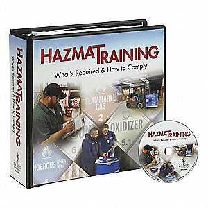 Safety Training Program,  DVD,  Chemical/HAZMAT Training,  English,  45 min.