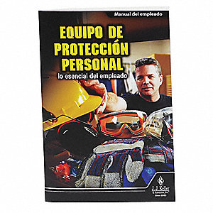 "Handbook,1"" Depth,5-1/2"" W,Spanish,PK10"