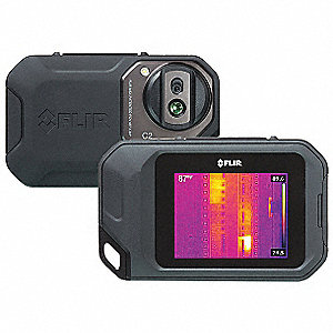 Infrared Camera, 32° to 302° F, Focus 0 10m to Infinity