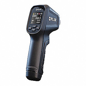 LCD Infrared Thermometer, Laser Sighting: Single Dot, -22° to 1202° Temp. Range (F)
