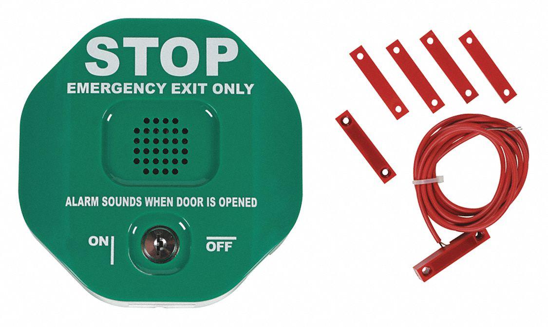 Exit Door Alarm 100dB Horn 12//24VDC