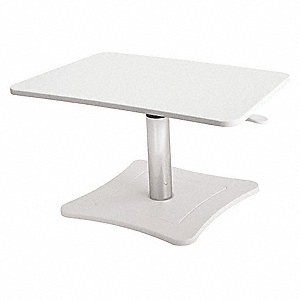 Laptop Stand,White,15-3/4in H x 13in L