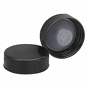 Phenolic Cap,33-400mm,Black,PK144