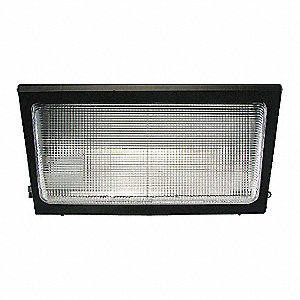 "9-1/2"" x 18-1/2"" x 9"" 38 Watt LED Wall Pack, Die Cast Aluminum"
