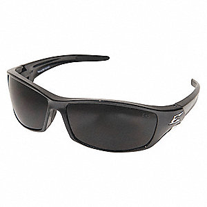 Scratch-Resistant Safety Glasses, Smoke Lens Color