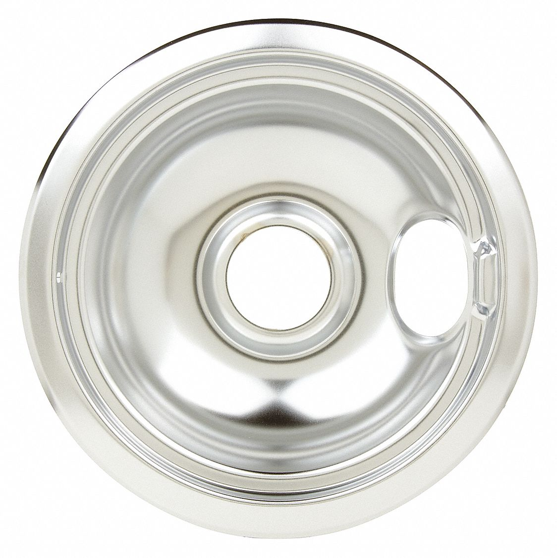 Chrome Drip Pan,6""
