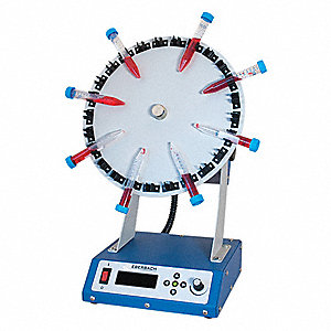 Digital Tube Rotator,10 to 50 rpm,115V