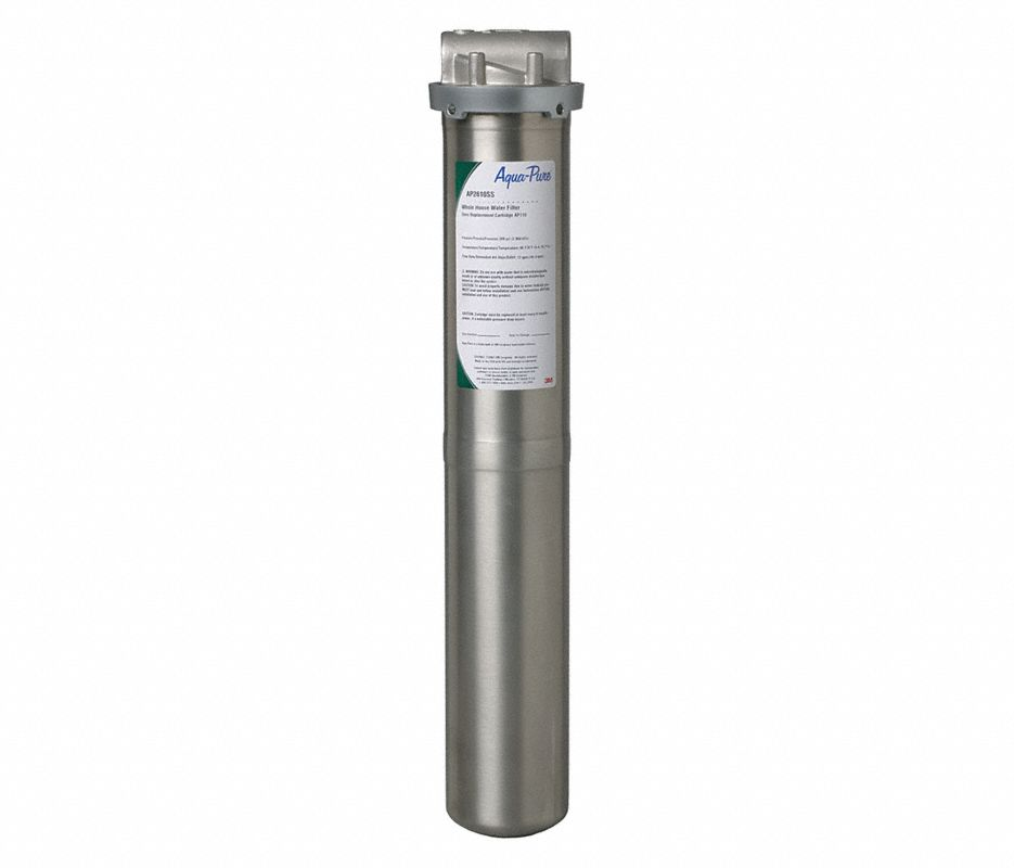 "Multi Cartridge Water Filter Housing, 304 Stainless Steel, 3/4"" NPT"