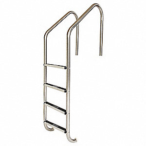 "Ladder,304 SS Tube,3 Steps,24"" W x 66"" L"
