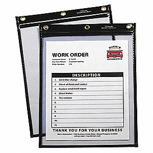 "Heavy Duty Shop Ticket Holder,12""H,PK15"