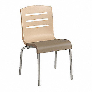 "Chair,Beige/Taupe,Stackable,34-1/2""H"