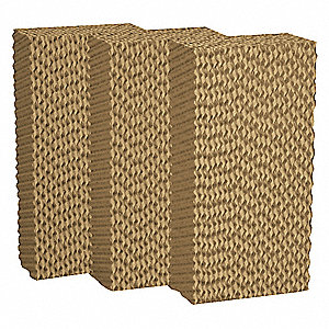 "Evaporative Cooler Pad, 24""H x 6""W x 12""D, Residential/Commercial/Industrial"