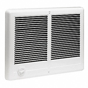 "Heater Wall Grille,Surface,12"" H"