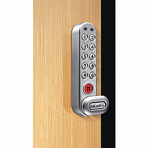 Zinc Alloy,  Electronic Keyless Lock,  Keypad,  Finish Powder Coated