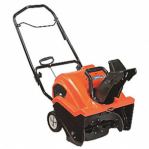 "Snow Thrower, Clearing Path:  21"", Fuel Type: Gas, 8-13/32"" Auger Diameter"