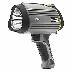 LED Spotlight, Plastic, Maximum Lumens Output: 500, Gray, 5.71""
