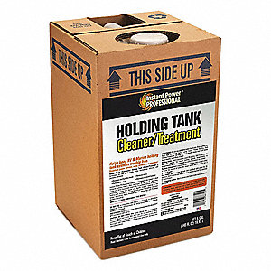 Holding Tank Cleaner/Treatment, 5 gal. Bottle, Unscented Liquid, Ready To Use, 1 EA