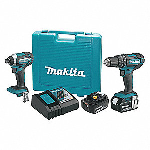 18V LXT® Cordless Combination Kit, 18.0 Voltage, Number of Tools 2