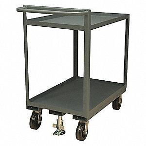 Utility Cart,2400 lb.,Steel,54 in.