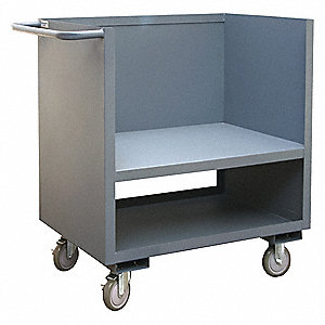 Utility Cart,1200 lb.,Steel,42 in.