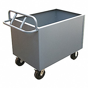 Solid Stock Cart,2000 lb.,Steel,42 in.