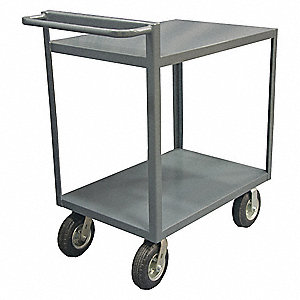 Shelf Truck,1500 lb.,Steel,66 in.