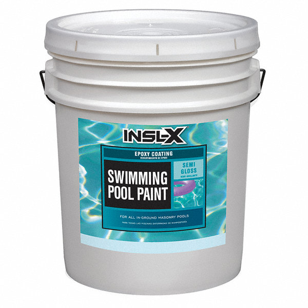 Insl x by benjamin moore royal blue paint semi gloss - Chlorinated rubber swimming pool paint ...