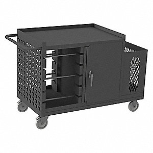 Wire Reel Cart Cabinet,1200 lb.
