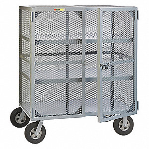"60"" x 48"" x 27"" Jobsite Box, 38 cu. ft., Gray"