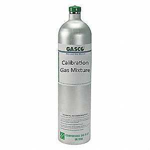 Methane, Nitrogen Calibration Gas, 58L Cylinder Capacity
