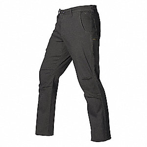 "Men's Stretch Pants. Size: 38"", Fits Waist Size: 38"", Inseam: 34"", Graphite"