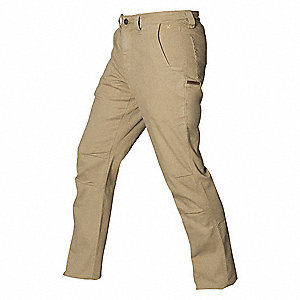 "Men's Stretch Pants. Size: 38"", Fits Waist Size: 38"", Inseam: 32"", Sand"