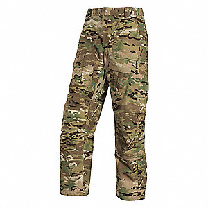 "Men's Ripstop Pants. Size: 36"", Fits Waist Size: 36"", Inseam: 30"", Multicam"