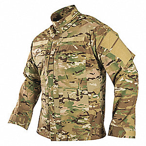 "Tactical Shirt,LS,XL,46"" to 48"" Chest Sz"