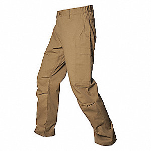 "Men's Tactical Pants. Size: 36"", Fits Waist Size: 36"", Inseam: 32"", Desert Tan"