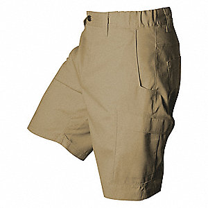 "Tactical Shorts,33"" Size,Desert Tan"