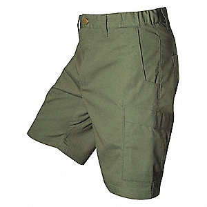 "Tactical Shorts, 34"" Size, Od Green"