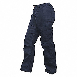 "Women's Tactical Pants. Size: 6"", Fits Waist Size: 6"", Inseam: 30"", Navy"