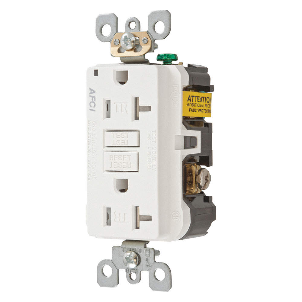 Hubbell Wiring Device Kellems 20a Commercial Arc Fault Receptacle Circuit Breaker Zoom Out Reset Put Photo At Full Then Double Click