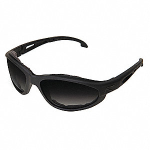 Falcon Anti-Fog, Scratch-Resistant Safety Glasses, Smoke Lens Color