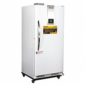 Upright Refrigerator&#x3b; Flammable Liquid&#x3b; Cycle Defrost