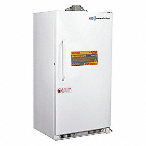 Upright Freezer; Flammable Liquid; Manual Defrost