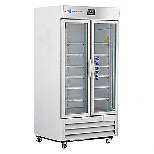 Upright Refrigerator&#x3b; Pharmacy&#x3b; Cycle Defrost