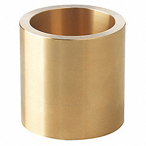 "Lead Free Cast Bronze Sleeve Bearing with 1/4"" Inside Dia. and 3/8"" Outside Dia."