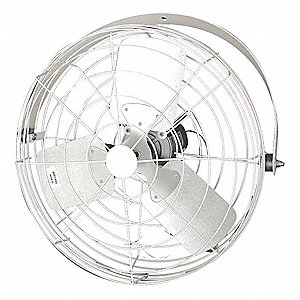 "Air Circulator ,20"" Dia.,0.5V,Steel"