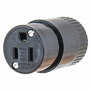 Blade Connector,Black,15A,Industrial